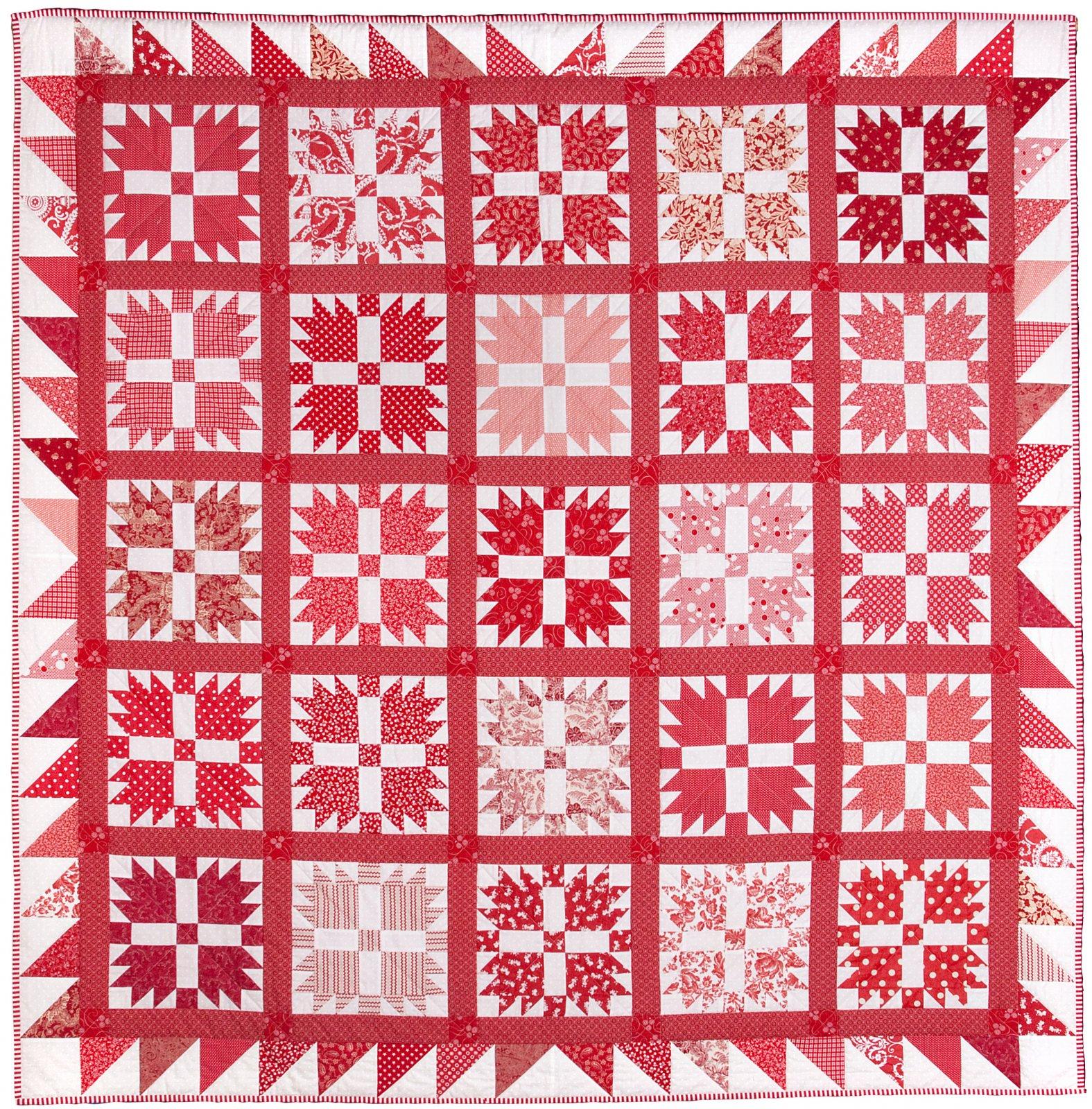 Emma Jean Jansen - Bear's Paw Quilt Pattern