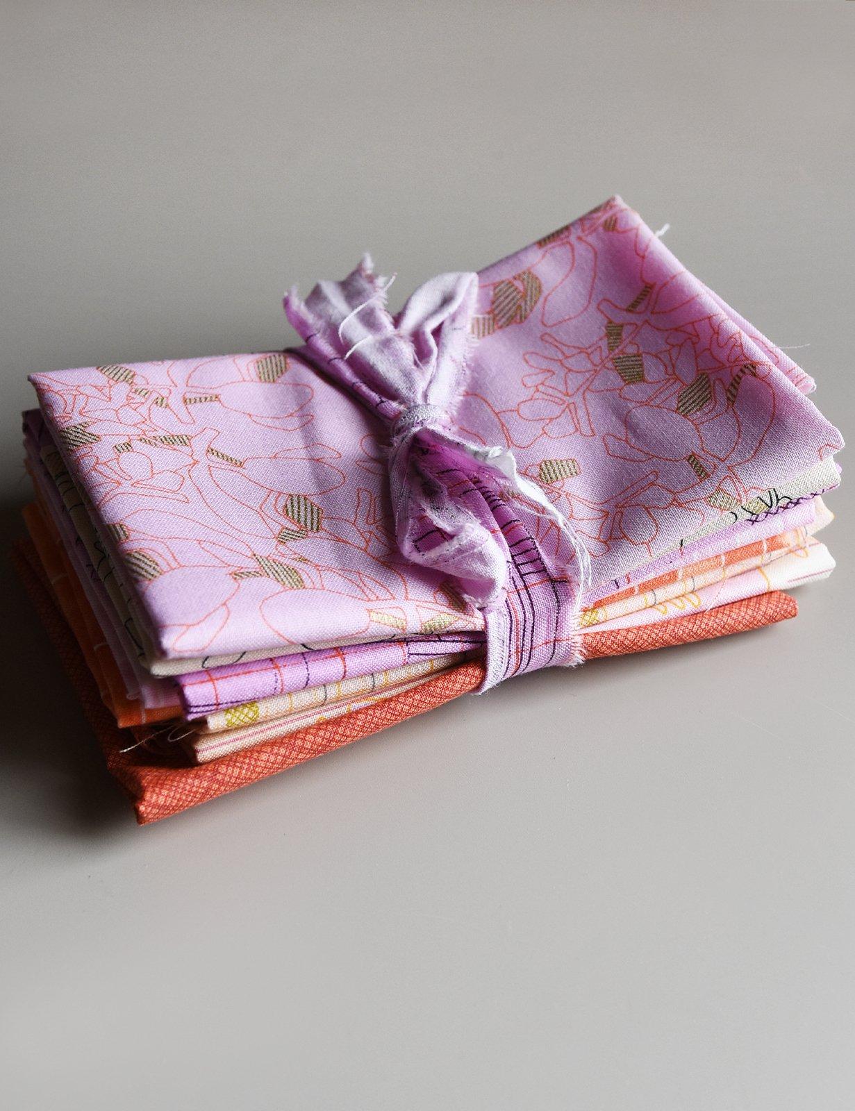 Carolyn Friedlander - Fat Eighth Bundle (1m)- Pink & Orange