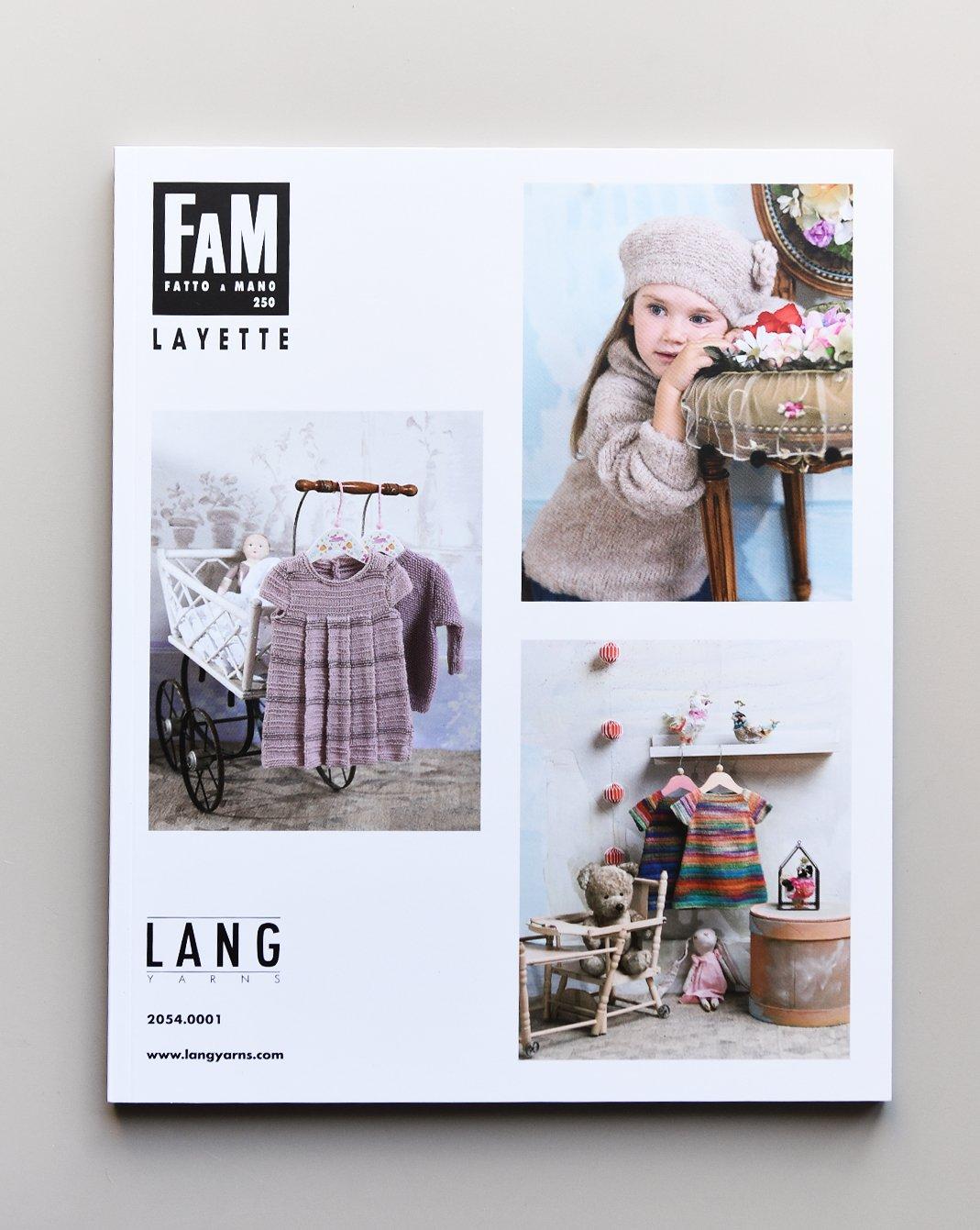 Lang Yarns - Fatto a Mano Pattern Book - #250 Layette