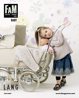 Lang Yarns - Fatto a Mano Pattern Book - #240 Baby