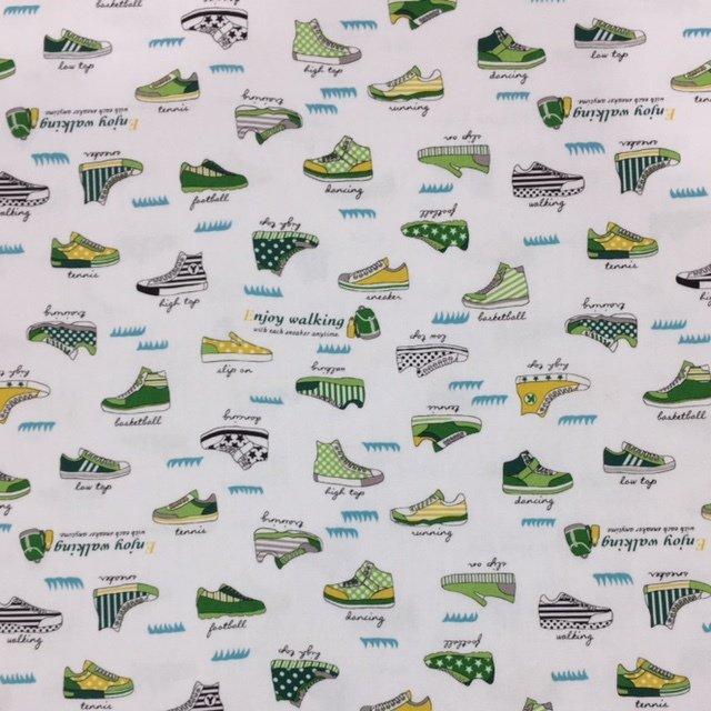 Kokka Fabrics - Sneakers - Green