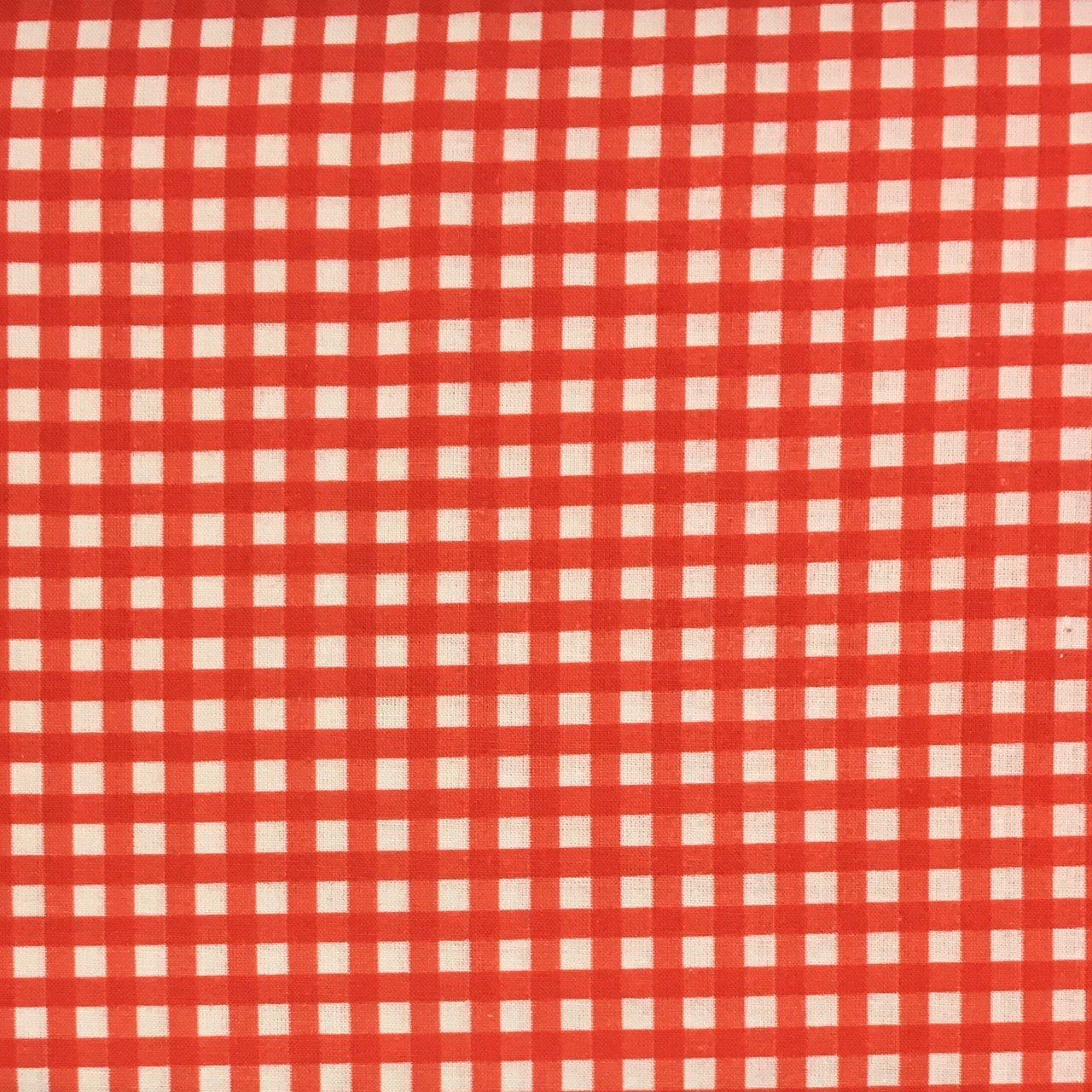 Stof Fabrics - Check - Red