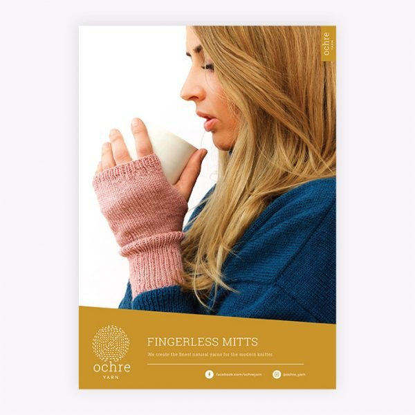Ochre Yarn - Fingerless Mitts Pattern