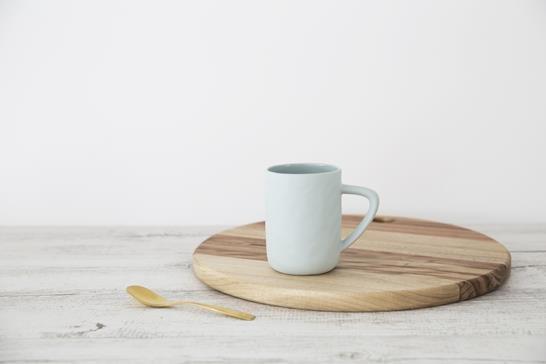 Flax Ceramics - Mug - Duck Egg