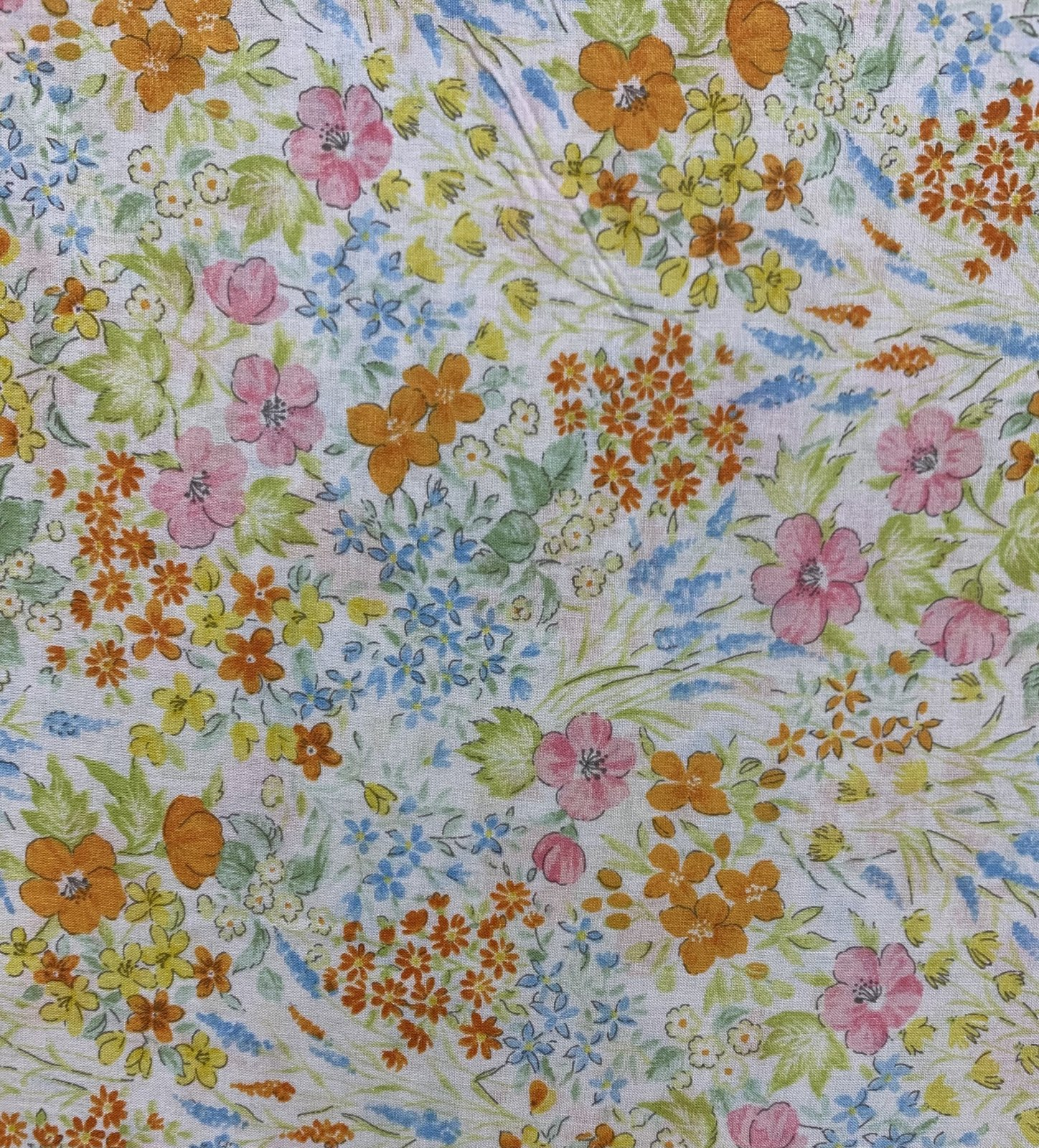 Japanese Fabric - Pretty Spring Floral