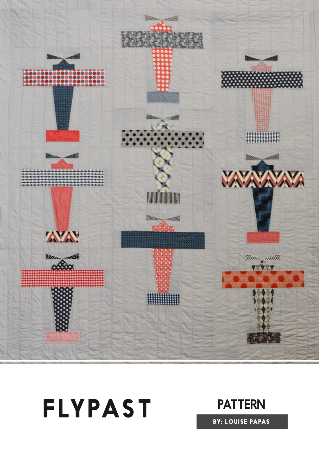 Flypast Pattern by Louise Papas