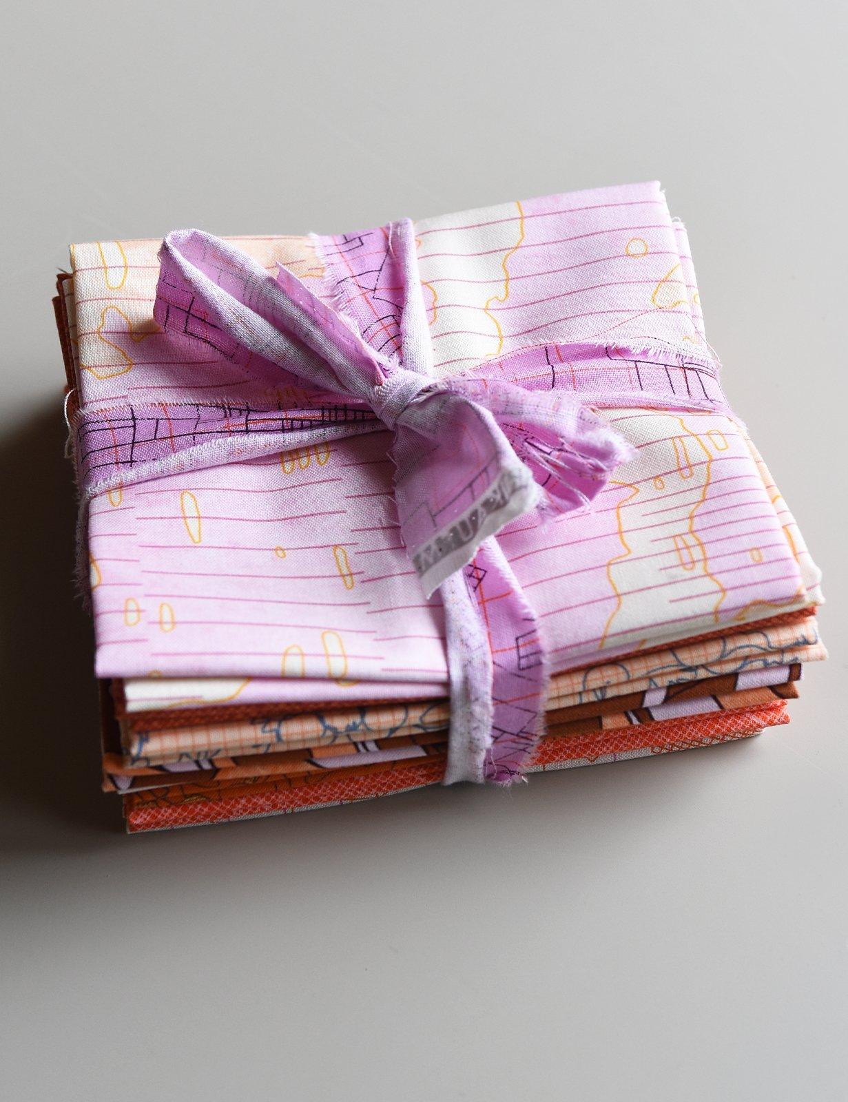 Carolyn Friedlander - Fat Quarter Bundle - Orange & Pink