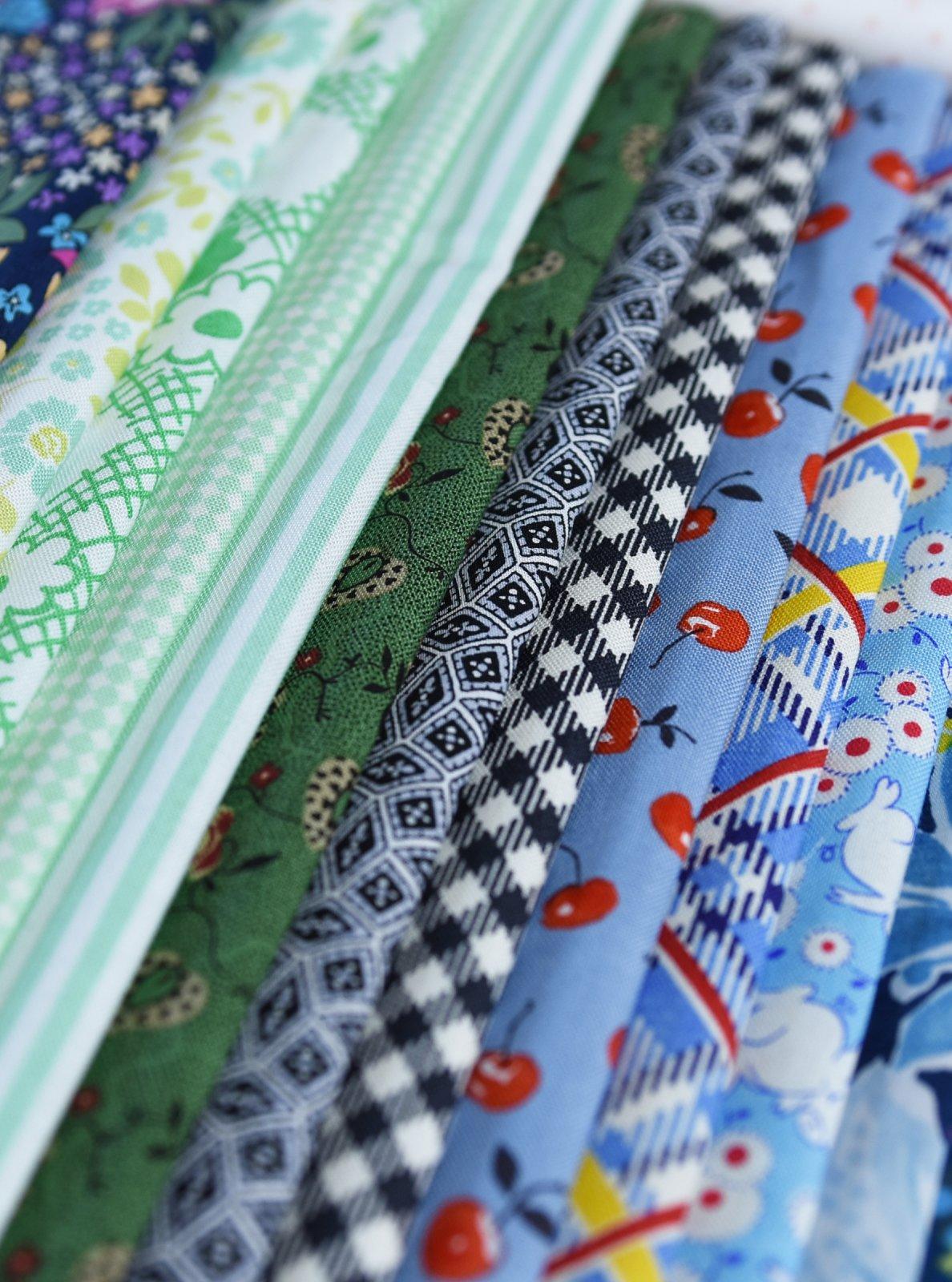 Girl Next Door New Kit - Fabric & Pattern