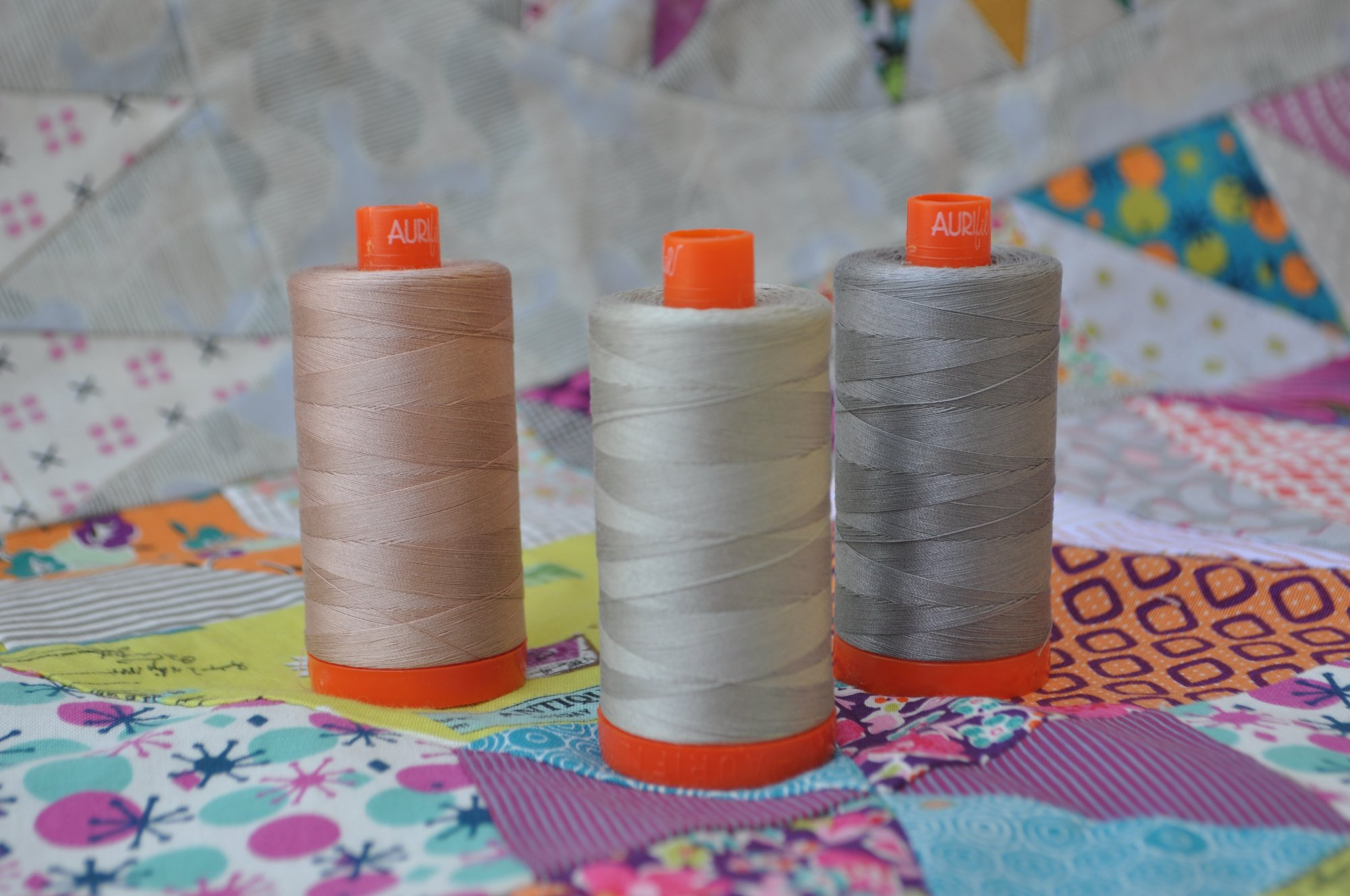 Aurifil Golden Days 50wt Thread Set (includes shipping)