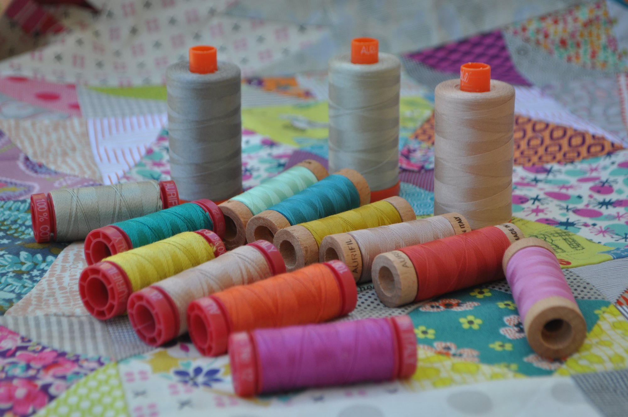 Aurifil Golden Days Complete Thread Set (includes shipping)