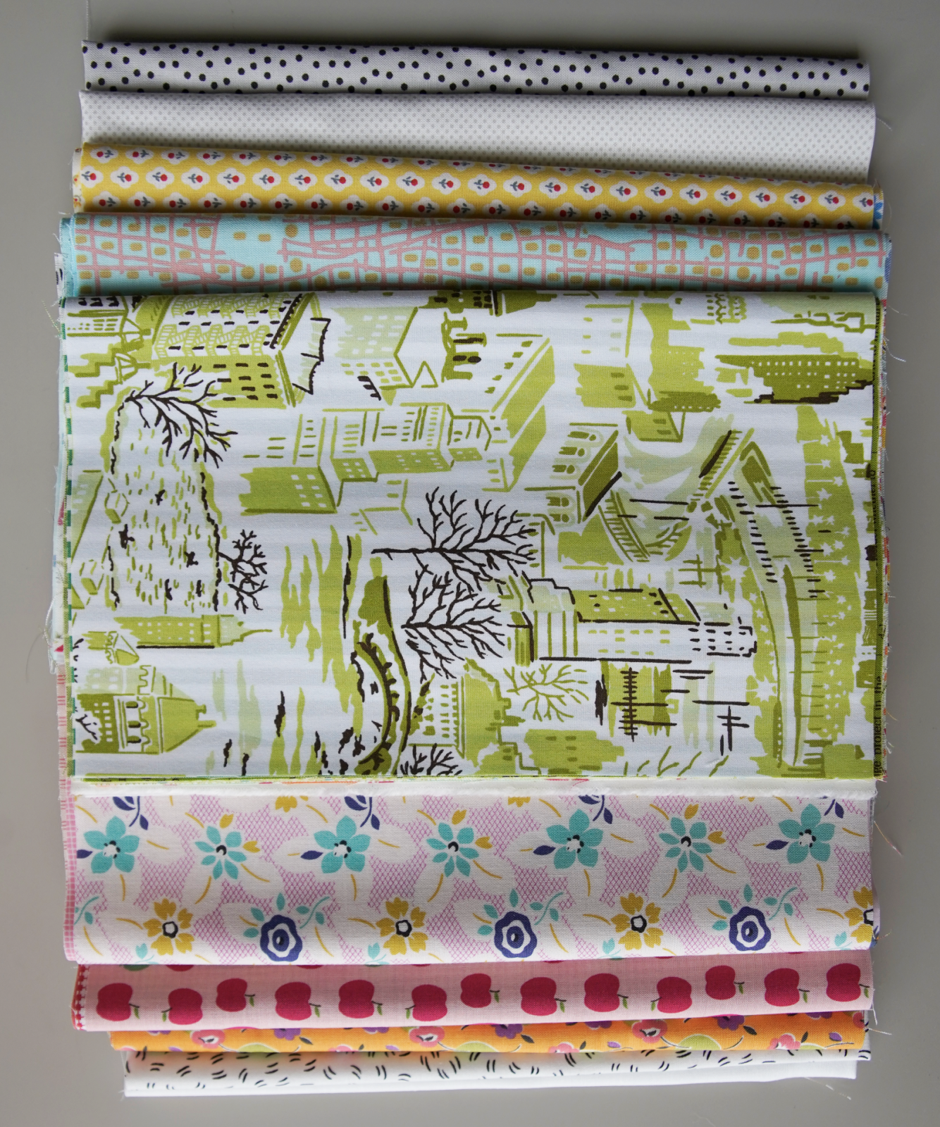 Green Tea and Sweet Beans - Starter Kit - Fabric & Pattern Booklet
