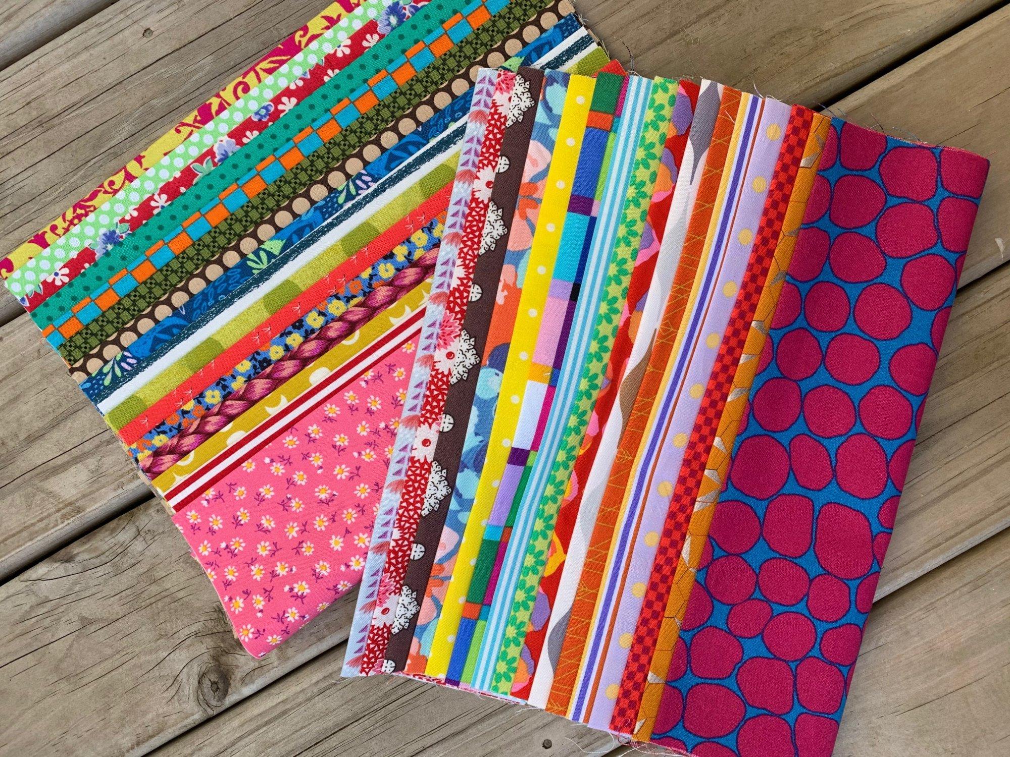 Happy Birds - Starter Kit - Fabric & Pattern Booklet