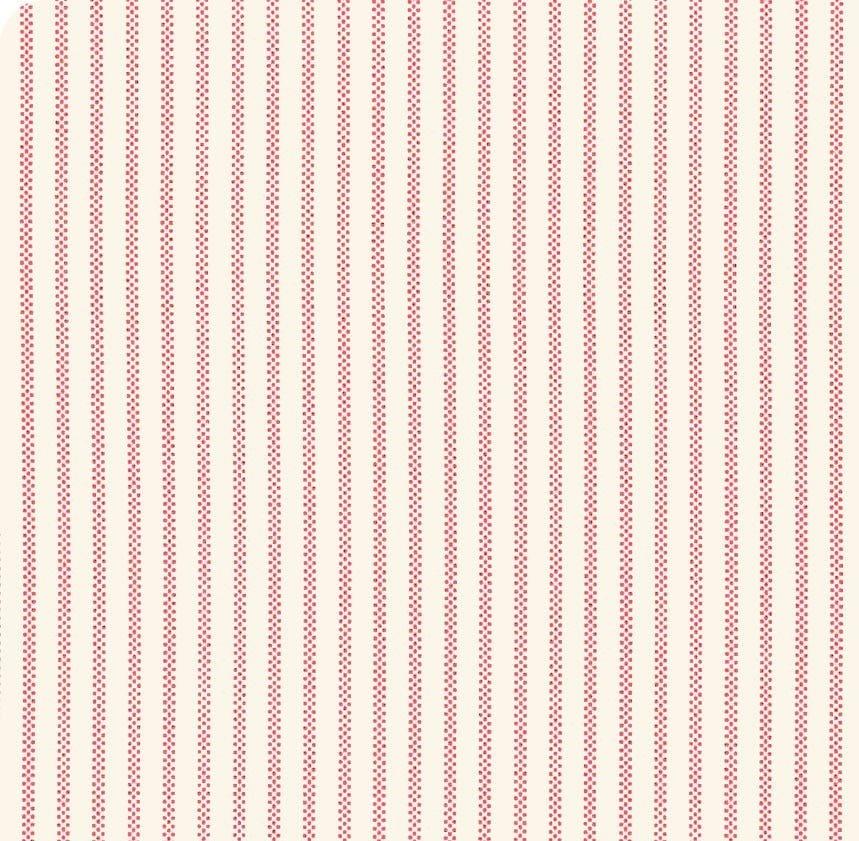 Moda - April Rosenthal - Homestead - Cloud & Apple Pinstripe