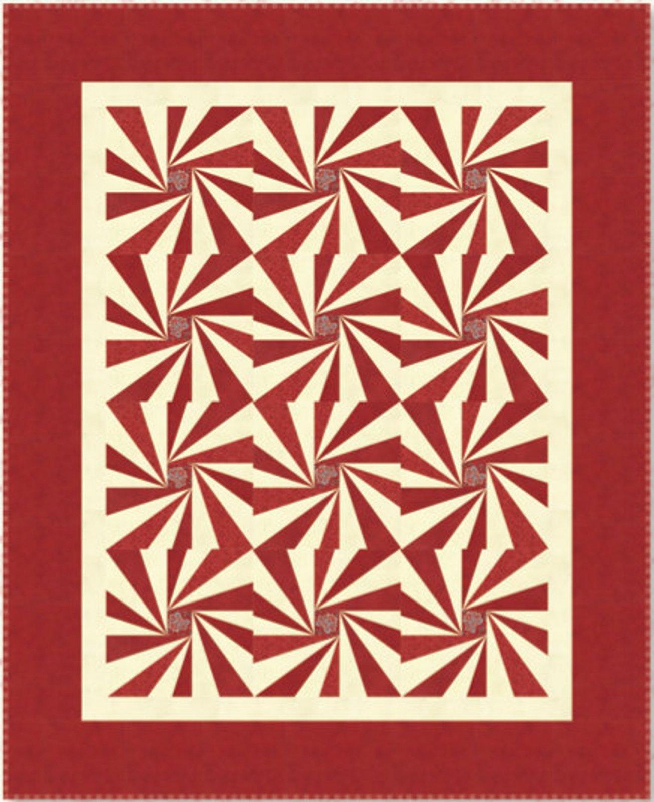 Starburst Pattern by Minick & Simpson
