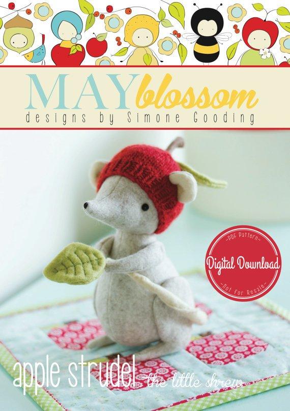 May Blossom Designs - Apple Strudel Pattern