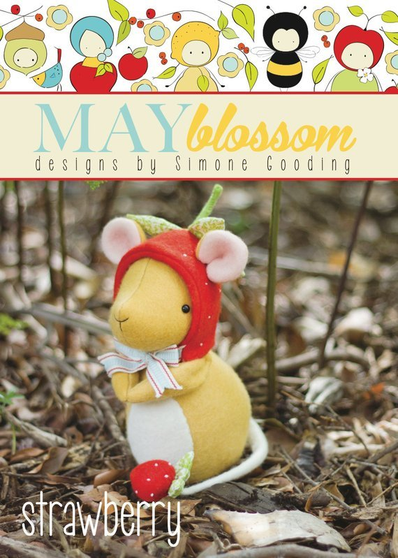 May Blossom Designs - Strawberry Pattern