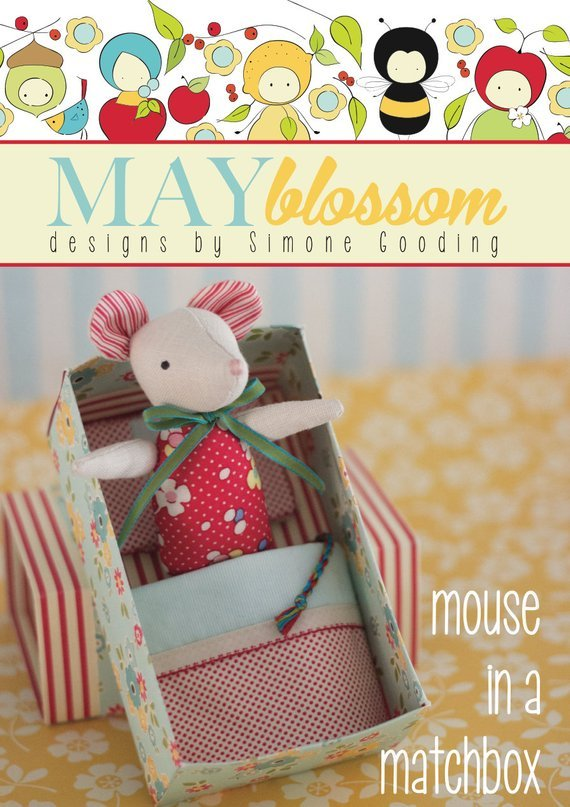 May Blossom Designs - Mouse In A Matchbox Pattern