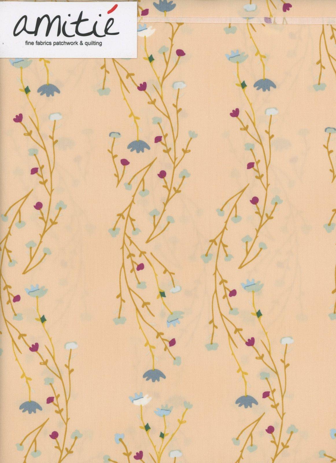 Art Gallery Fabrics - Garden Dreamer - Climbing Posies - Blush
