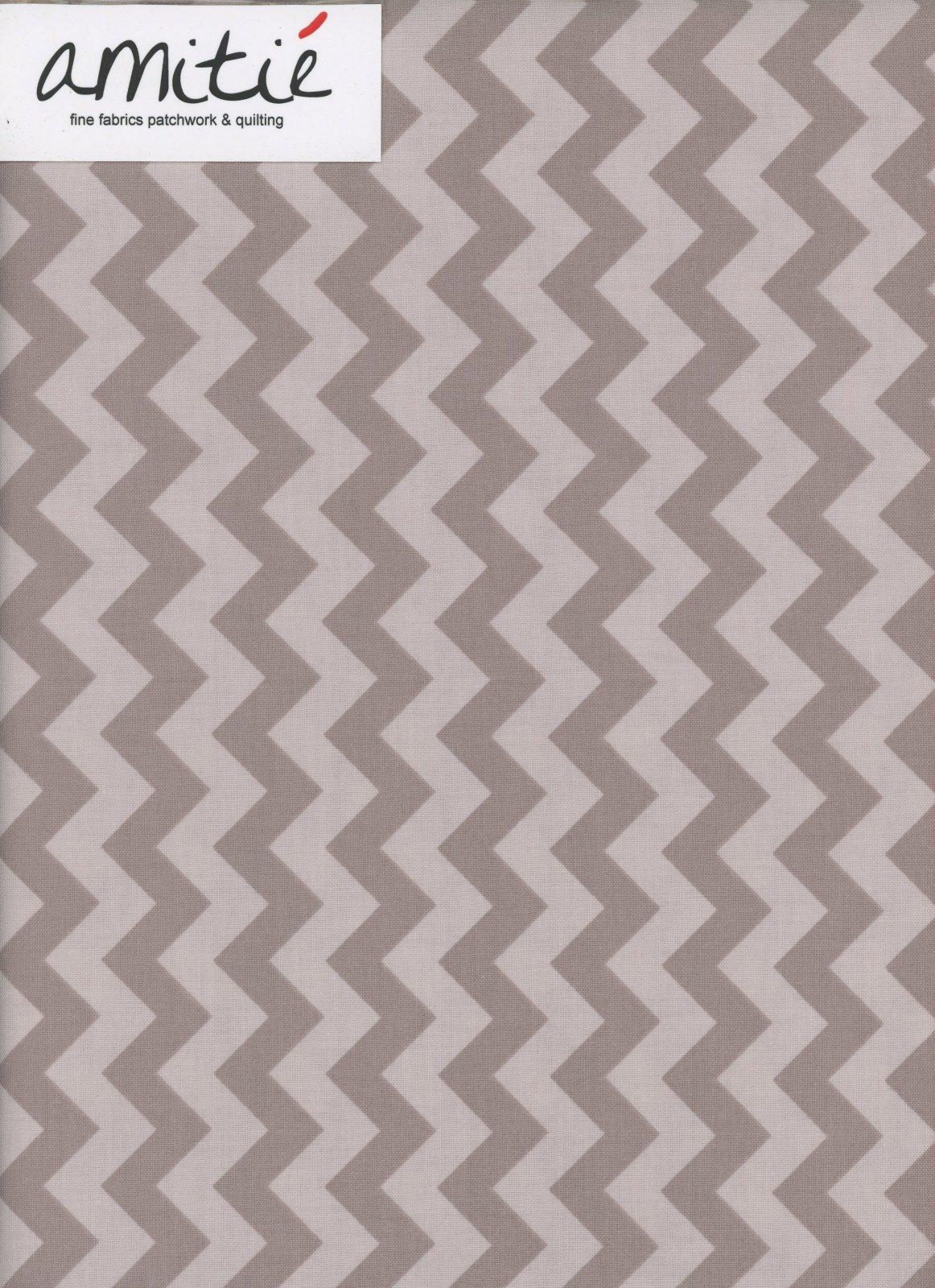 Small Chevron Tone on tone Gray