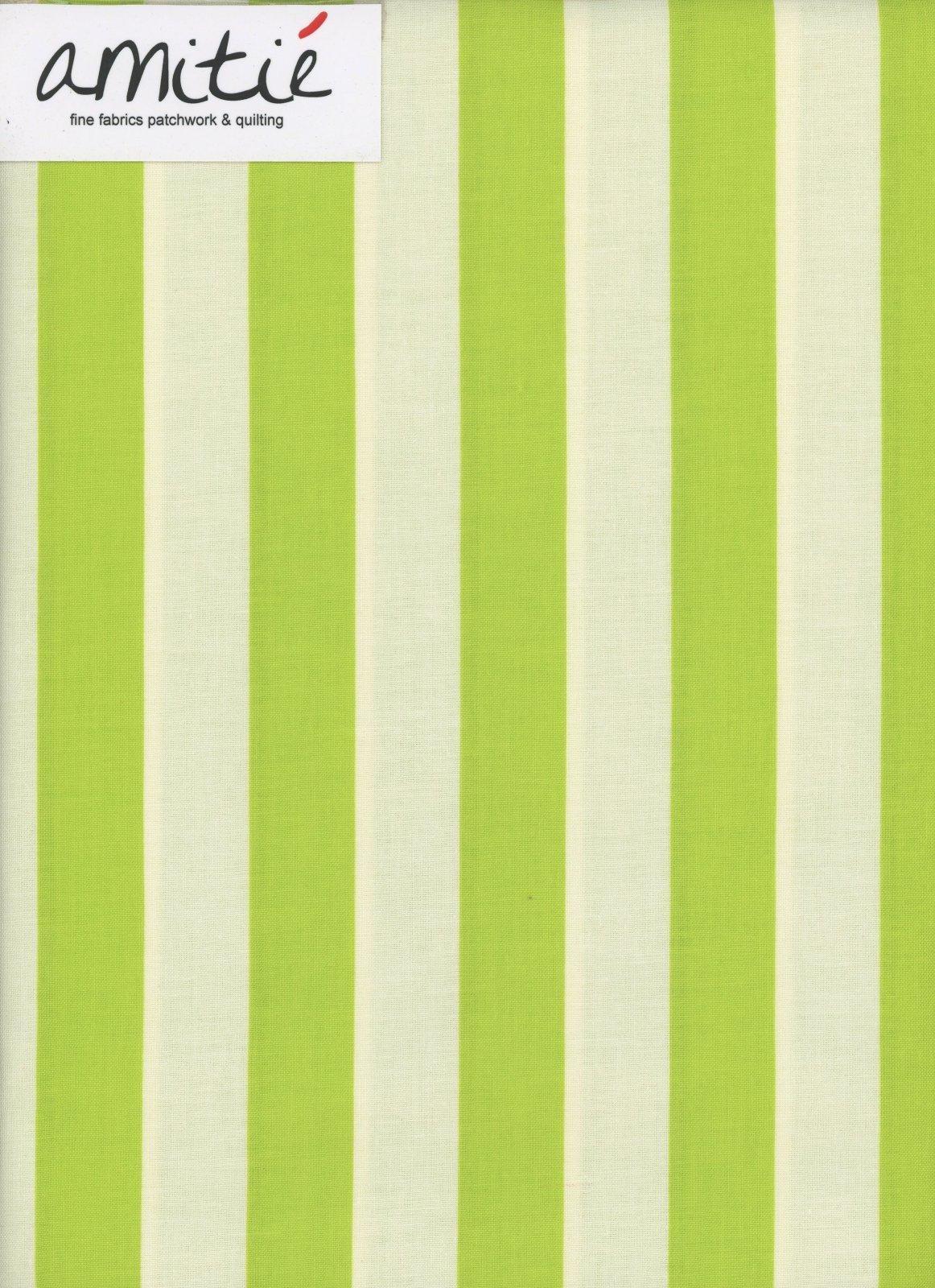 Le Creme - 1 Lime/Cream Stripe