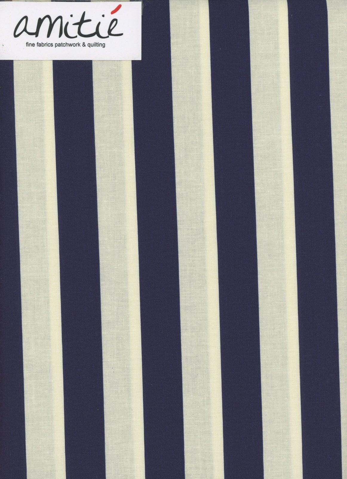 Le Creme - 1 Navy/Cream Stripe