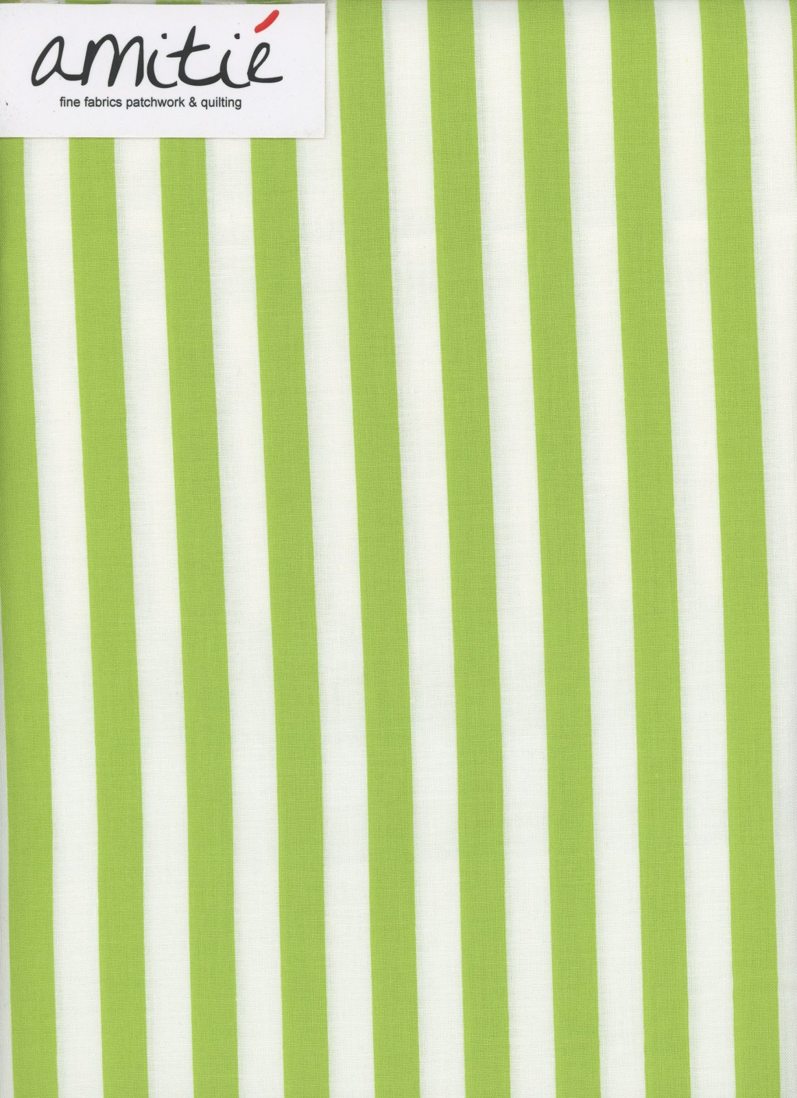 Le Creme - 1/2 Lime/Cream Stripe