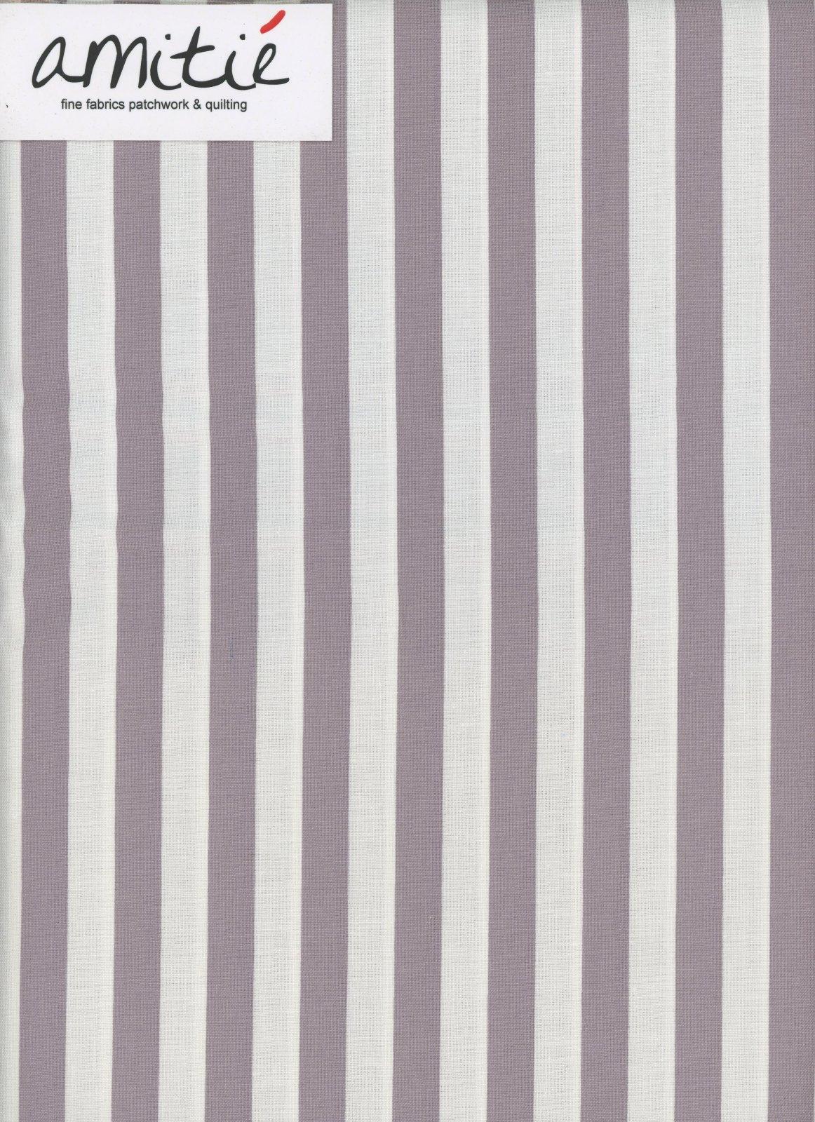 Le Creme - 1/2 Gray/Cream Stripe