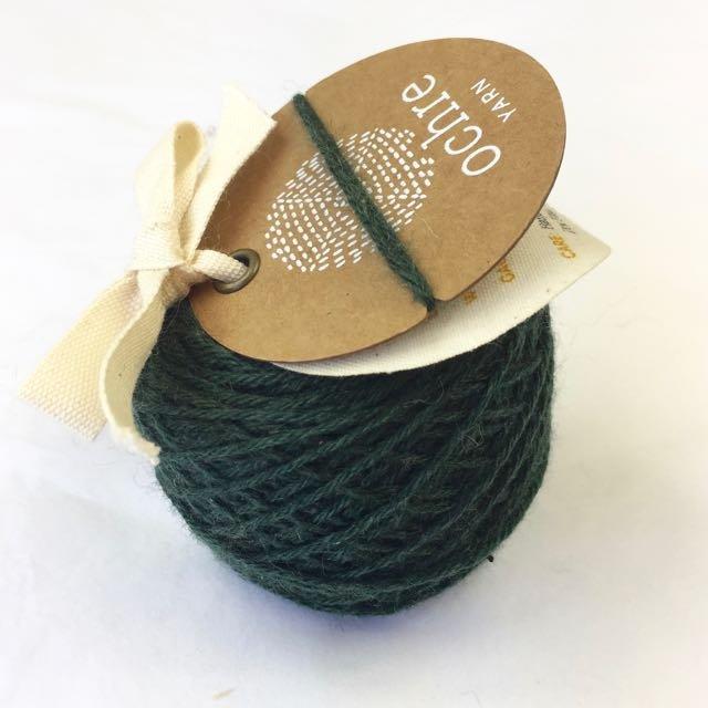 Ochre Yarn - 4ply Merino/Yak/Silk - 20g/80m - #57 Charcoal