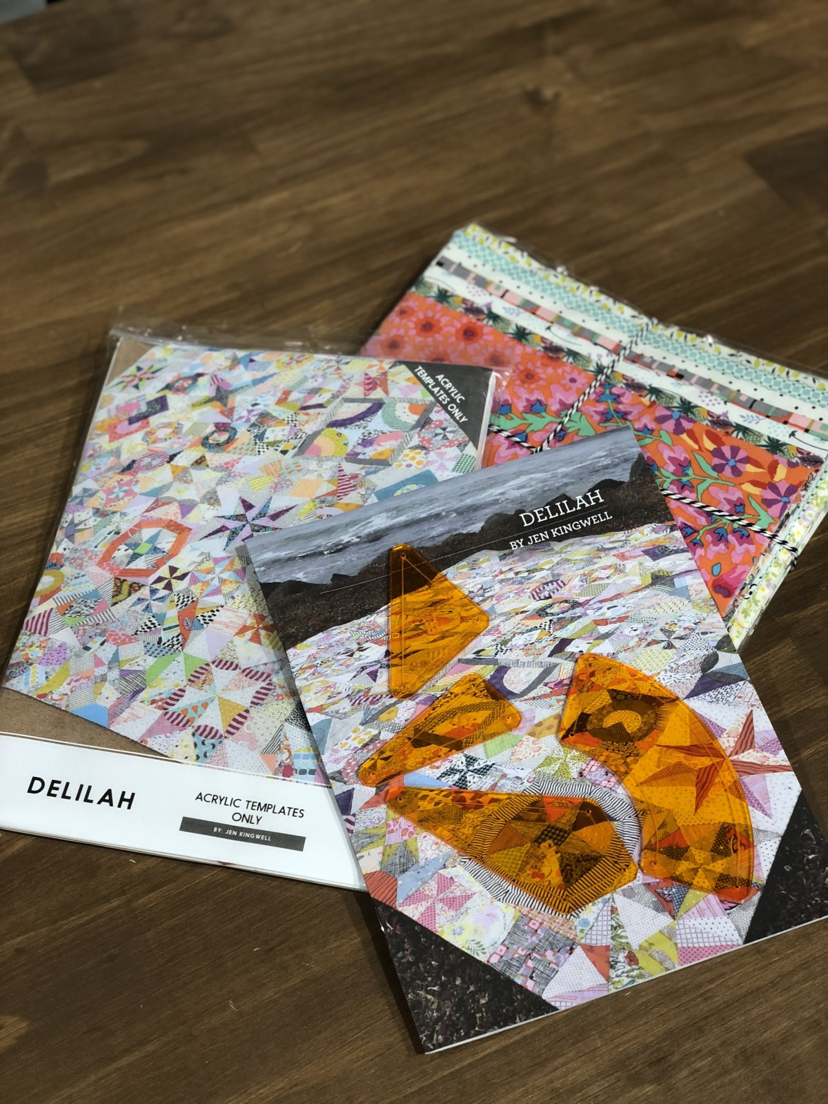 Special Offer - Delilah Acrylic Templates and Fabric Starter Kit