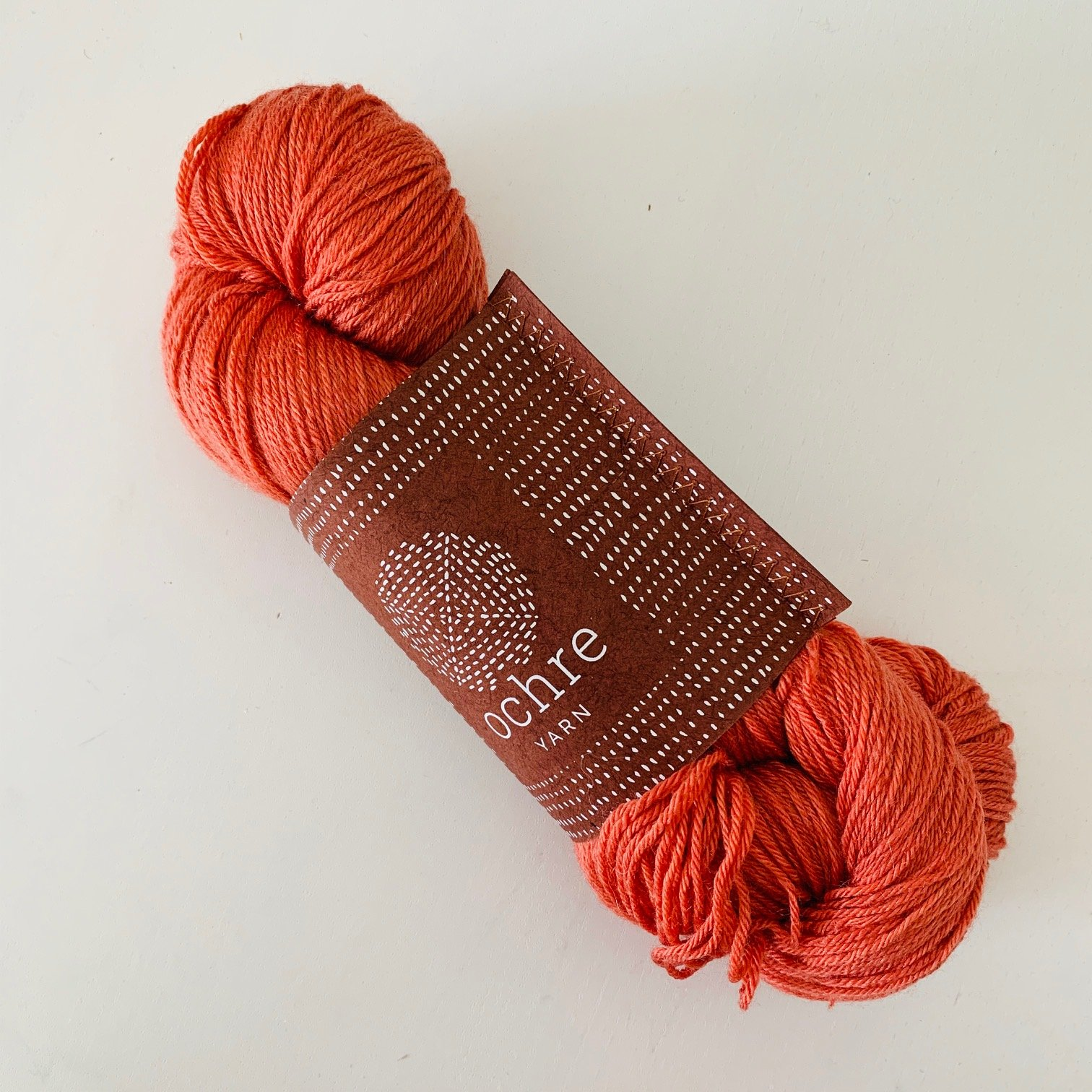 Ochre Yarn - Baby Jacket - Kit