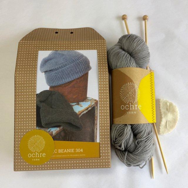 Ochre Yarn - Classic Beanie 304 - Kit