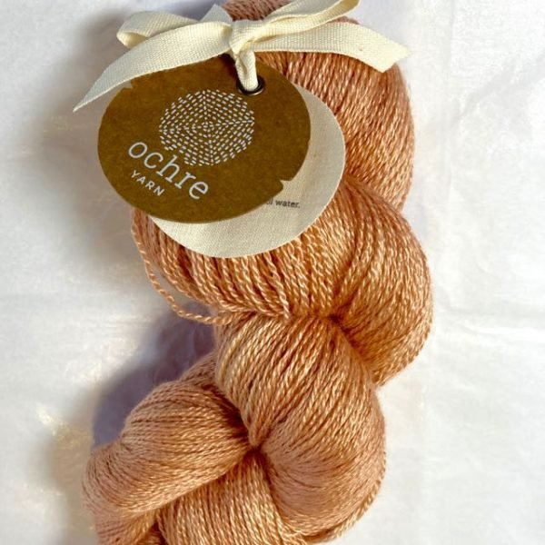 Ochre Yarn - #308 Lace Weight Silk/Yak - 100g/700m - Rust
