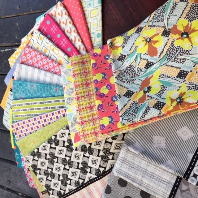 Marshall Mystery Quilt by Jen Kingwell - Complete Fabric Pack + Templates & Magazines/patterns