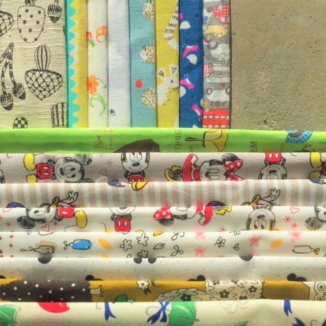 Jen's Curated Fabrics from The Vault - Novelty Prints - 1m pack