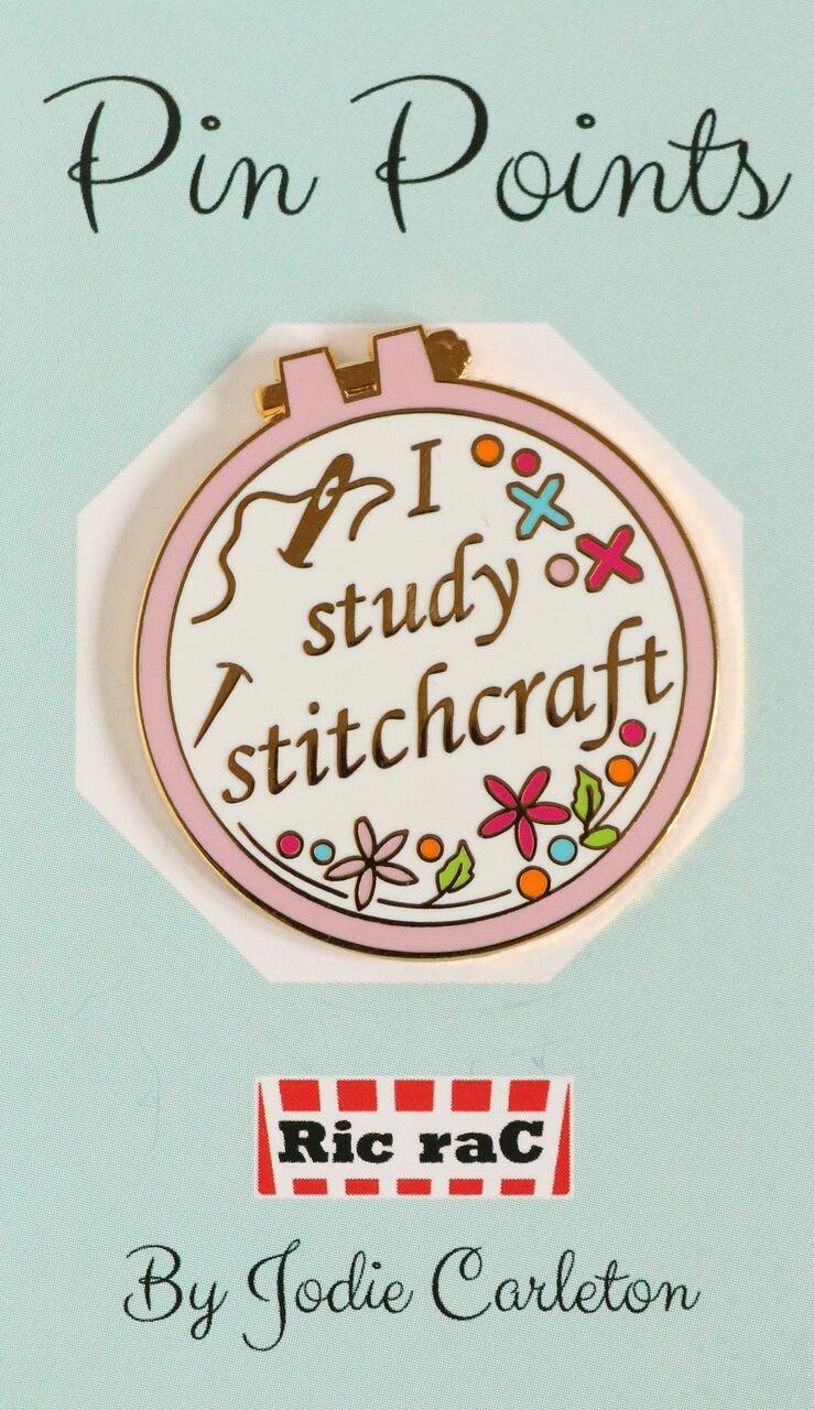 Pin Points - Jodie Carleton - Stitchcraft - Pink
