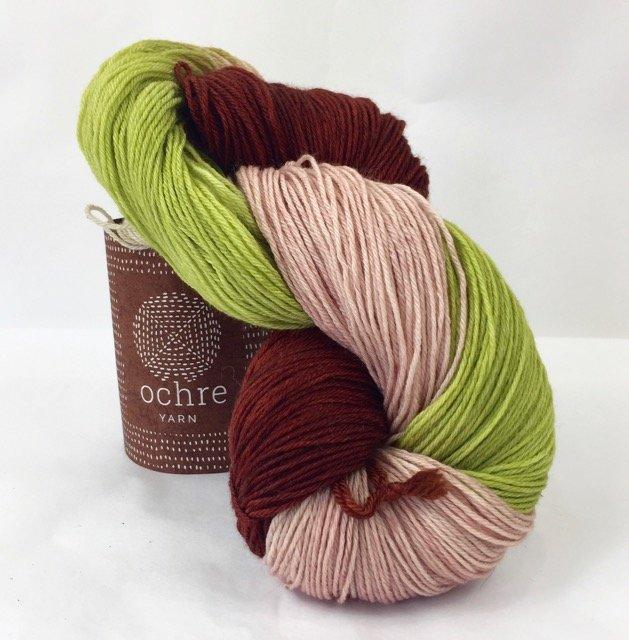 Ochre Yarn - 4ply Merino/Yak/Silk - 100g/400m - #64 Windfall