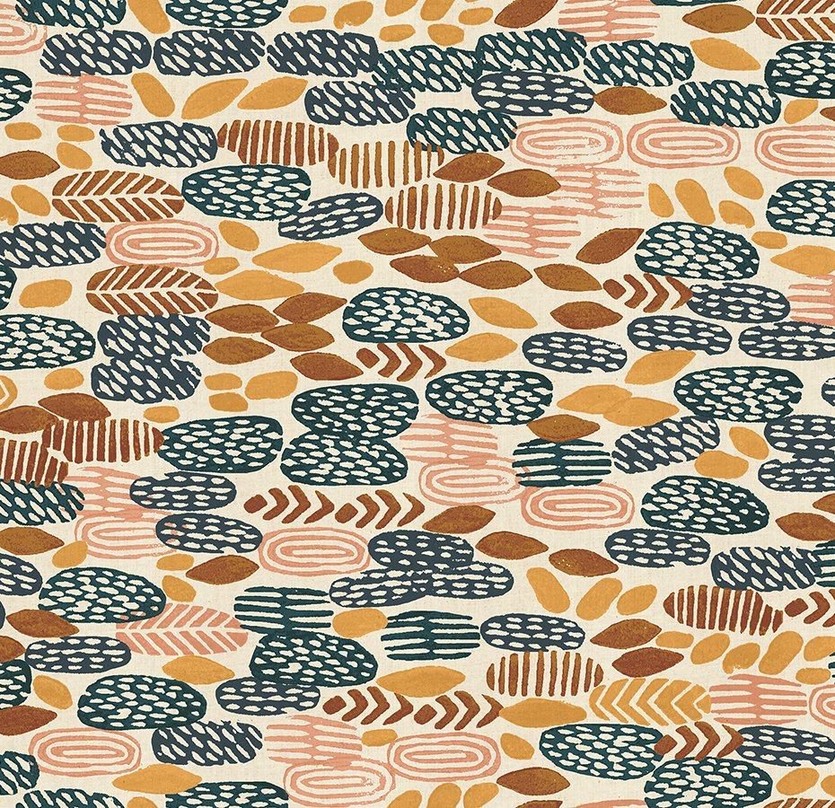 Cotton & Steel - Jeanne McGee - Homestead - Pond - Harvest