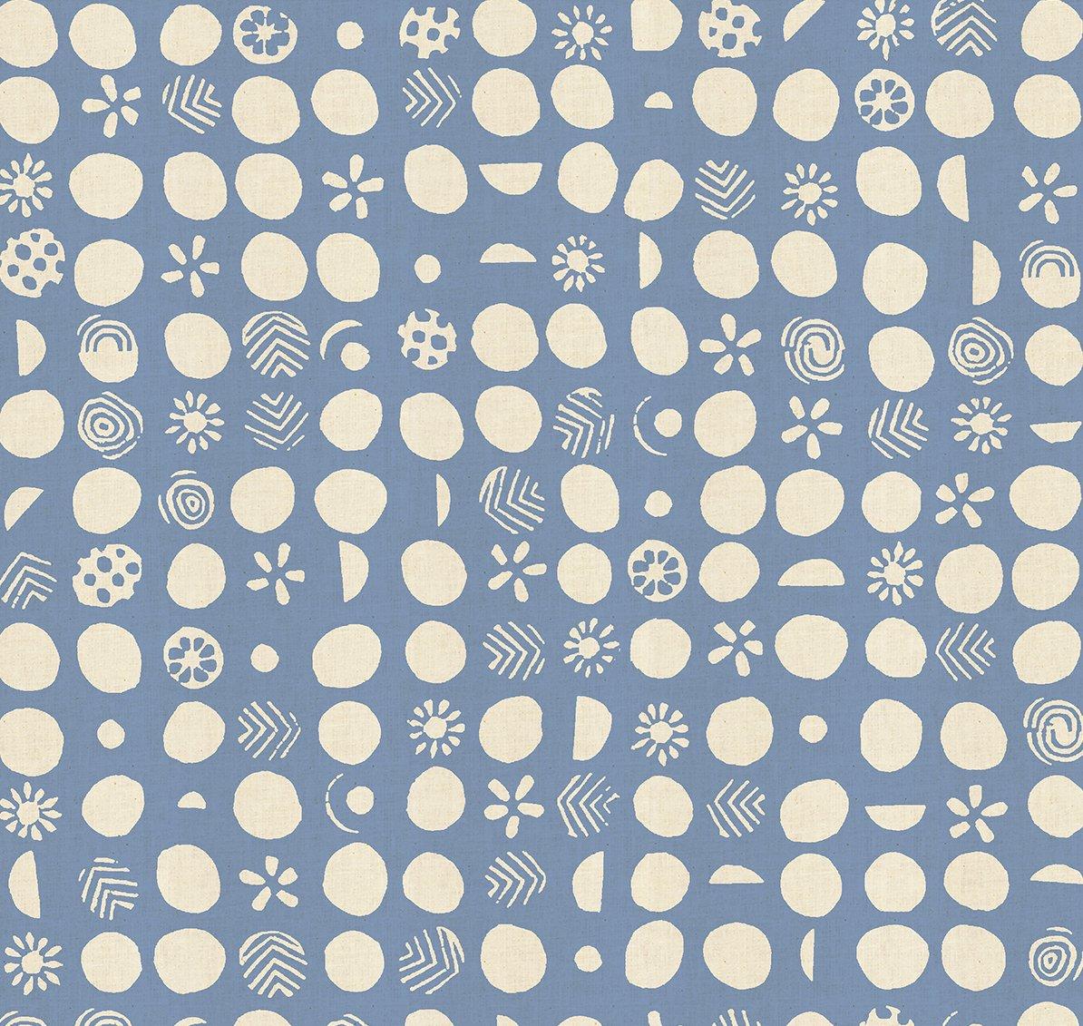 Cotton & Steel - Jeanne McGee - Homestead - Germination - Waterdrop