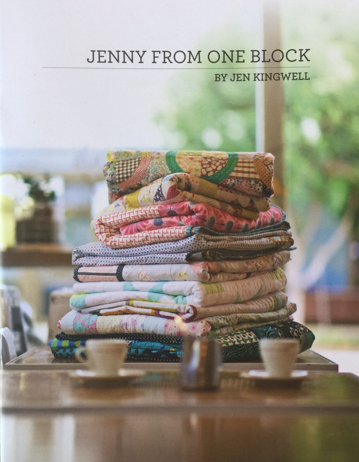 Jenny From One Block  Booklet by Jen Kingwell