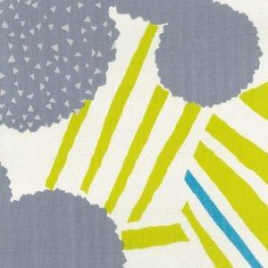 Kokka Fabrics - Echino Ray - Double Gauze - Lime