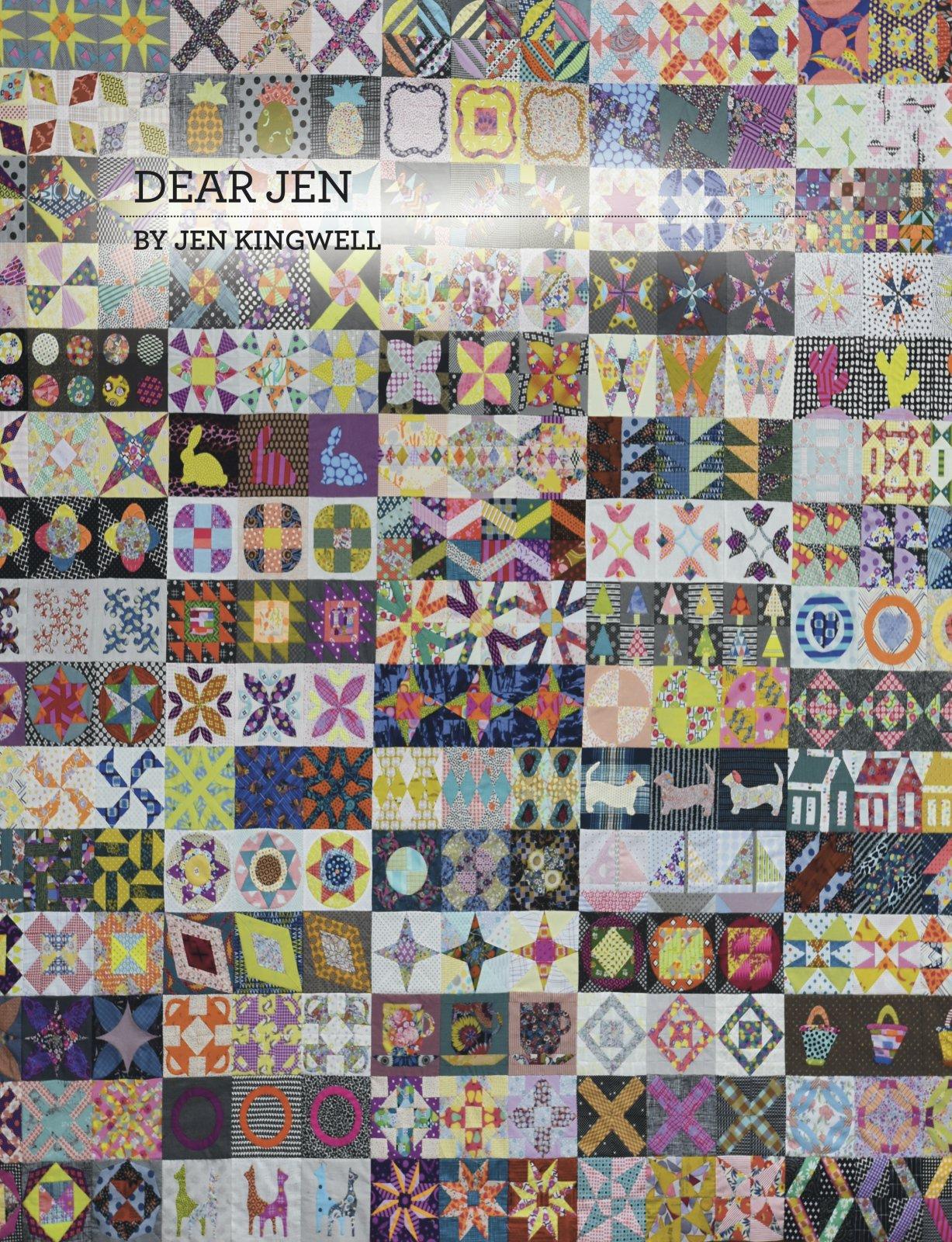 Dear Jen Booklet by Jen Kingwell
