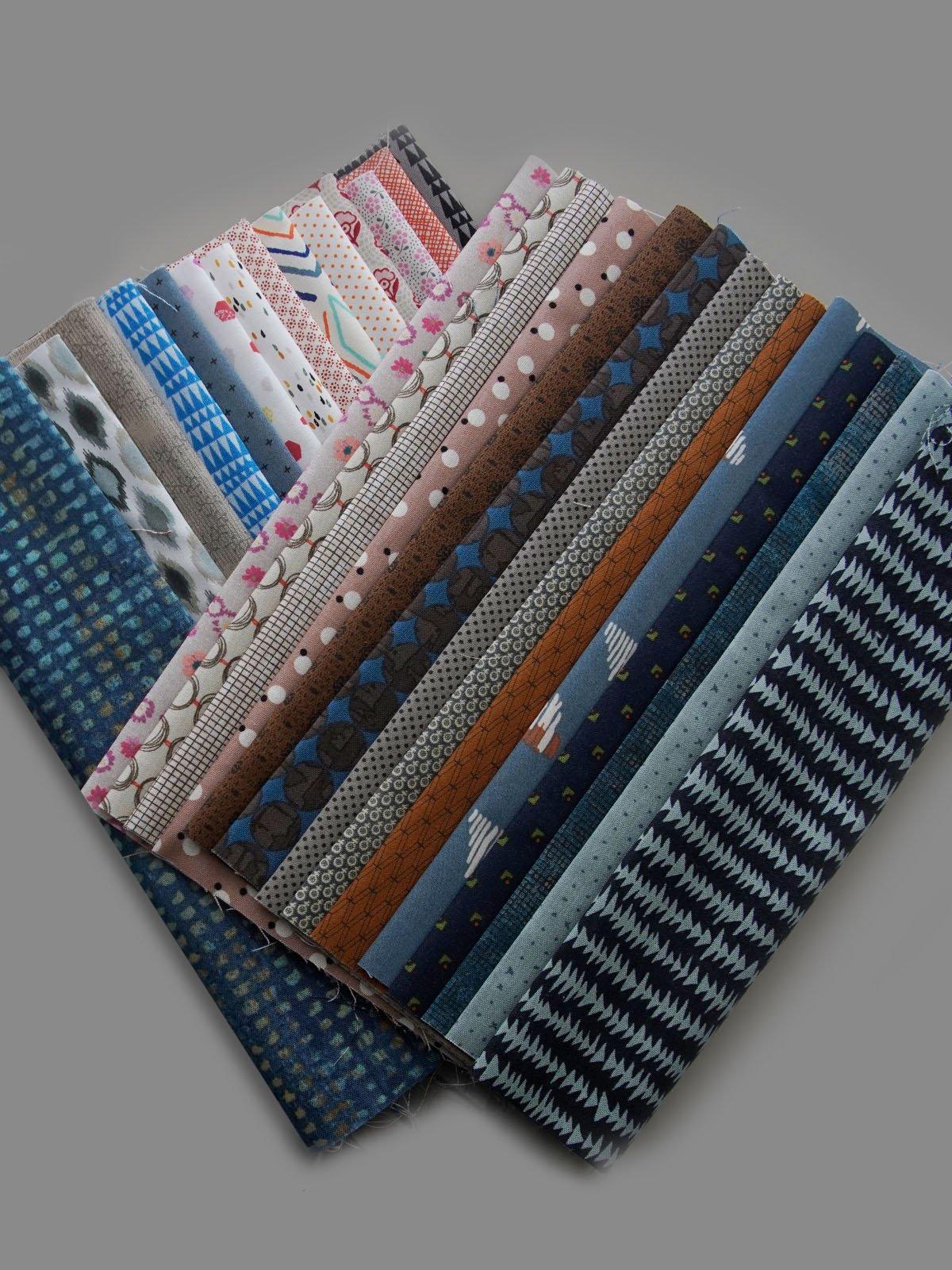 Dear Jen - Background Kit - Fabric & Pattern Booklet