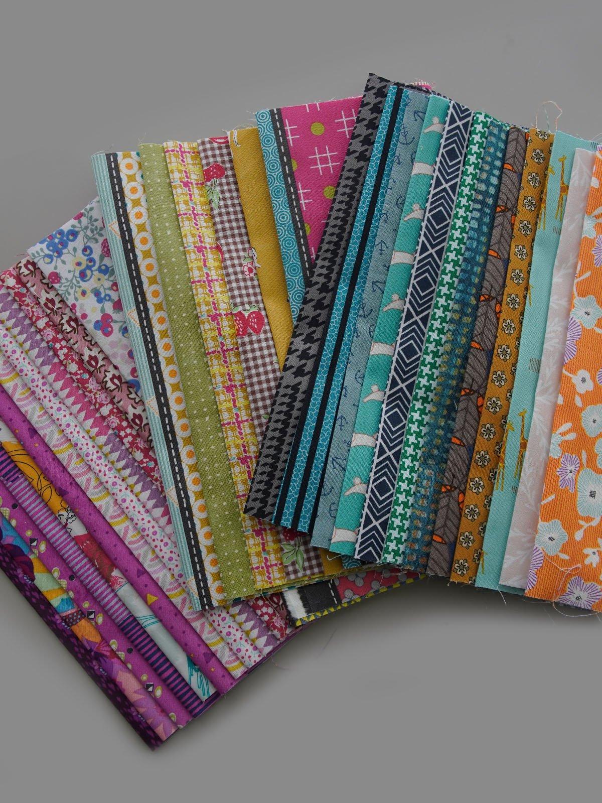 Dear Jen - Colour Kit - Fabric & Pattern Booklet