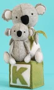Ric Rac - K is for Koala