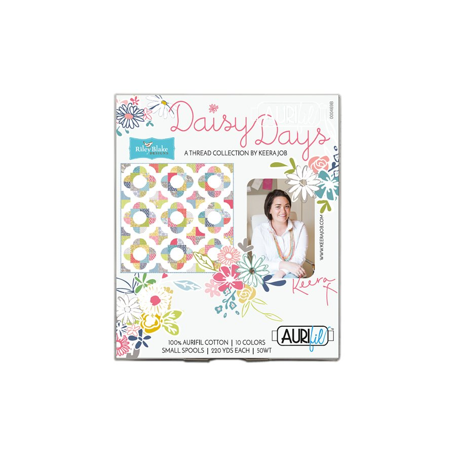 Aurifil Daisy Days Collection by Keera Job - Small