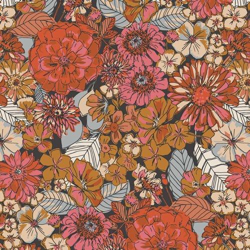 Art Gallery Fabrics - Kismet - Fleuron Haven