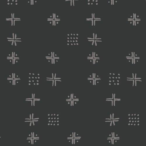 Art Gallery Fabrics - Kismet - Mudcloth Sable