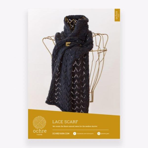 Ochre Yarn - Lace Scarf Pattern