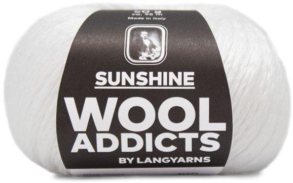 Lang Yarn - Wool Addicts - Sunshine - White