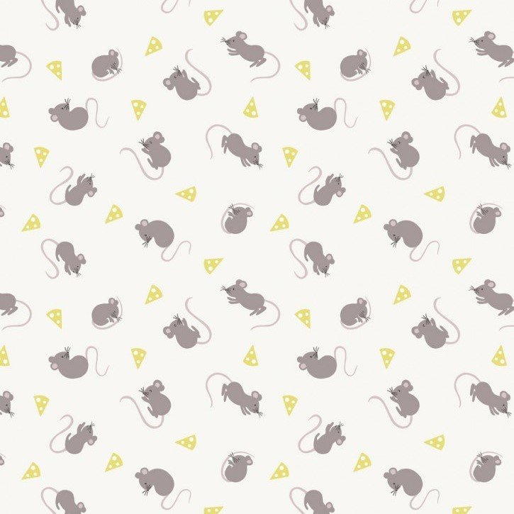 Lewis & Irene - Small Things Country Creatures - Mice - Cream